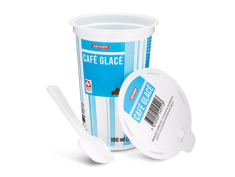 Emballage alimentaire Glace italienne PS
